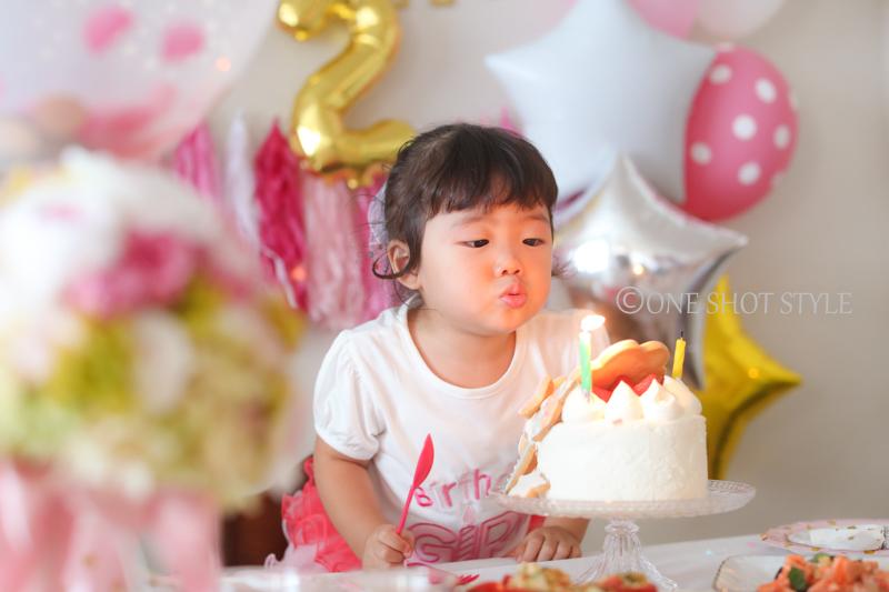 愛知県 名古屋   お誕生日 出張撮影 自宅撮影 家族写真 ファミリーフォト