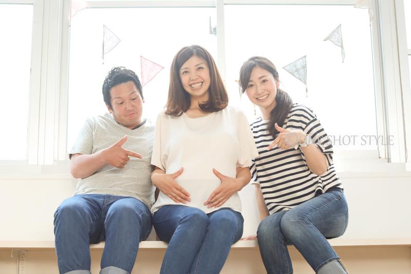 出張撮影 愛知 名古屋 マタニティフォト ロケーション撮影 家族写真 女性カメラマン