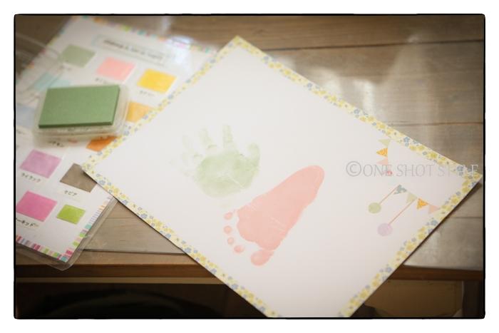 手形足形アート 出張撮影 撮影会 子供写真 愛知 名古屋