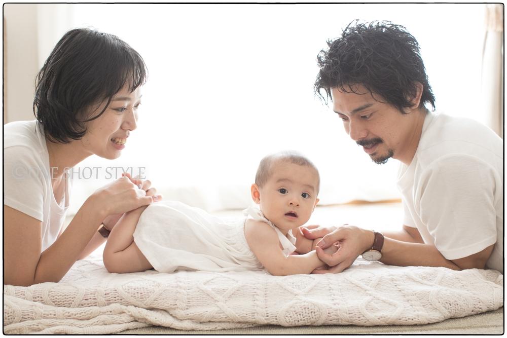 愛知 名古屋 家族写真 ニューボーンフォト 出張撮影 ハーフバースデー