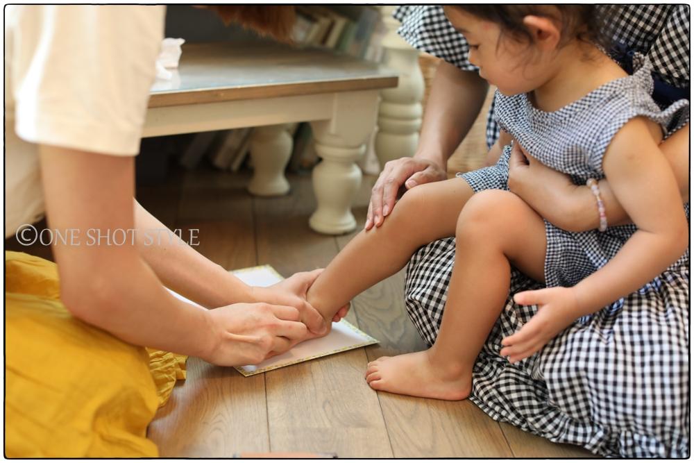 敬老の日 ワークショップ 手形足形アート 撮影会 ワークショップ