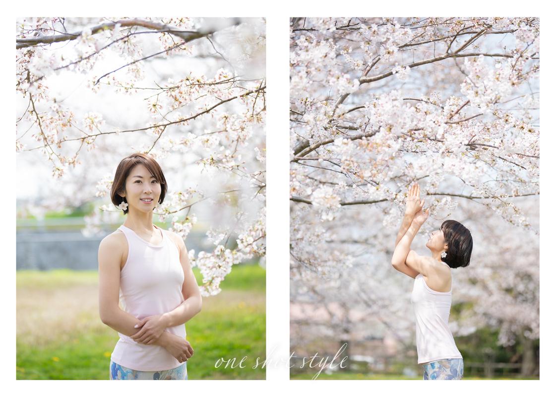 三重 出張撮影 桜撮影会 ロケーションフォト プロフィール写真